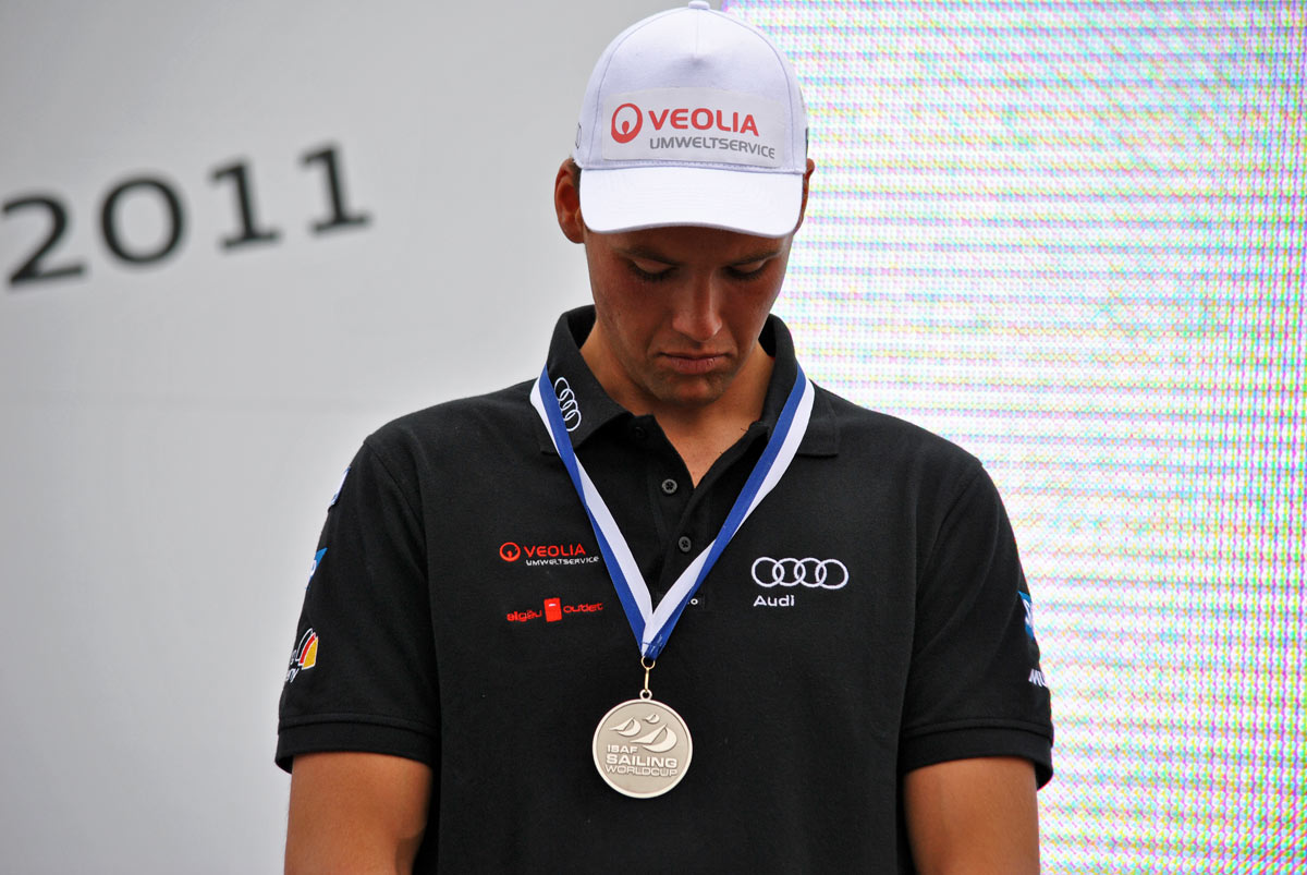 2011 | Kieler Woche Olympia Qualifikation Disappointing Silver